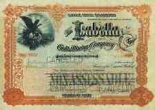 Isabella Gold Mining Company 1896 Hagerman Cripple Creek Colorado 200 shares