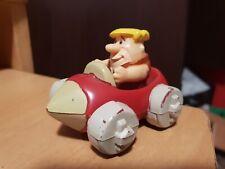 BARNEY RUBBLE IN CAR Flintstones 1990 Vintage Toy LIC by HPI