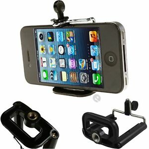 Smart Mobile Cell Phone Tripod Holder Clip Fits For iPhone 6 7, 8, X, XR, XS MAX