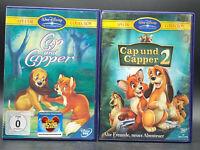 DVD: Sammlung CAP & CAPPER 1-2 (1 + 2) Komplett Deutsch