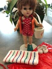 Vogue Ginny vintage 1958 doll with swimsuit #1353 outfit