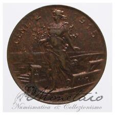 (Monetaio) Vittorio Emanuele III 2 Centesimi 1915 Italia Su Prora SPL/FDC