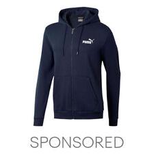 PUMA Essentials Men's Hooded Fleece Jacket Men Sweat Basics