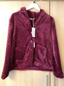BNWT Marlon Bed Jacket Style MA20153 Berry/Sea Blue (B24)