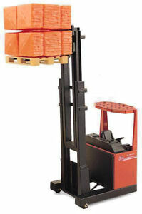 JOAL 188 - BT RT-1350 Fork Lift Truck + Load - 1/25 Scale Boxed -Tracked 48 Post