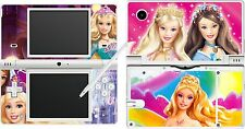 NDSi nintendo DSi - BARBIE - 4 Piece - Decal / Sticker Skin UK
