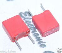 10pcs - WIMA MKS2 0.022uF (0.022µF 0,022uF 22nF) 400V 5% pich:5mm Capacitor