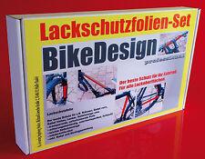 Lackschutz Rahmenschutz Folie Set, 23 Teile, transparent, Fahrrad Bike