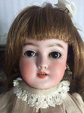 "Beautiful 12"" Antique German ""Santa"" Doll Simon & Halbig 1248 Bisque Head"