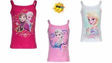 Ärmellose Mädchen-Tops, - T-Shirts & -Blusen mit Motiv aus 100% Baumwolle