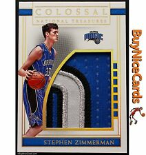 2016-17 Stephen Zimmerman National Treasures Colossal RC Patch 25/25 - 1/1