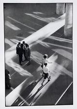 Rene Burri•Men watching Women•Brazil Street Photo 20x28 Poster Published France