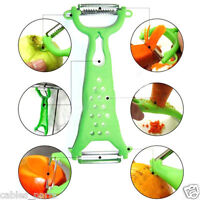 Kitchen Tools Gadgets Vegetable Fruit Peeler Parer Julienne Cutter Slicer Orange