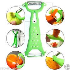 Kitchen Tools Gadgets Vegetable Fruit Peeler Parer Julienne Cutter Slicer Orange