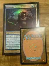 1x GRIMGRIN, CORPSE-BORN - Commander's Arsenal - OVERSIZED -  FOIL