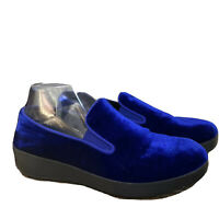 FitFlop Womens Superskate In Velvet Blue Style 175-399 Size 6 Shoes