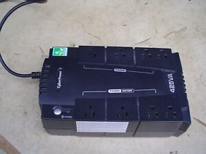 CyberPower 425VA Surge Protector and Battery Backup