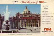 Along the way of TWA... St Peter's ROME, ITALY LA PIU' GRANDE BASILICA DEL MONDO