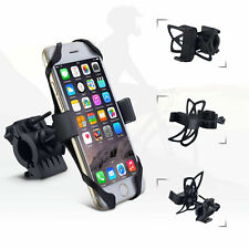 Motorcycle Bicycle MTB Handlebar Cell Phone GPS PDS Mount Holder Bracket Black