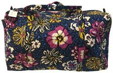 VERA BRADLEY AFRICAN VIOLET SMALL DUFFEL BRAND NEW WITH TAG