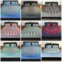 Indian Duvet Doona Cover Comforter Mandala Hippie Bohemian Quilts Cover Set