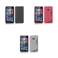 Étuis, housses et coques Nokia Lumia 640 en silicone, caoutchouc, gel pour téléphone mobile et assistant personnel (PDA) Nokia