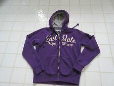 veste sweat zippée à capuche JAPAN RAGS taille S mauve