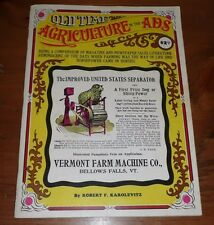 Vintage Magazine Old time Agriculture in the Ads 1970