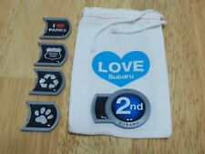 2nd Subaru Trunk Badge plus 4 other badges