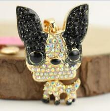 Hot Pendant Betsey Johnson Chihuahua dog animals rhinestone Enamel necklace