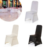 Chair Seat Covers Spandex Stretch Dining Slip Removable Banquet Wedding Party