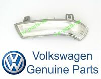 GENUINE VW Wing Mirror Indicator Turn Signal Lens Passenger Side Left LED Bulb