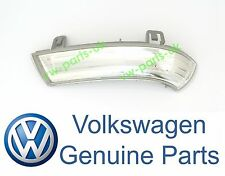 Genuine VW Wing Mirror INDICATOR Turn Signal Lentille Côté Passager Gauche Ampoule DEL