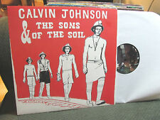 calvin johnson & the sons of soil beat happening k records indie klp180 lp '07!