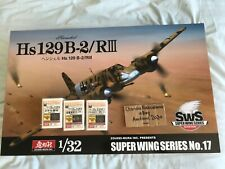 1/32 Zoukei Mura Hs 129B-2/RIII **PLUS 3 ZM Detail Sets** - FREE UK SHIPPING!