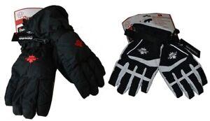 Damen Herren Ski Handschuhe Winter Handschuh Skihandschuh 2 in 1 NEU