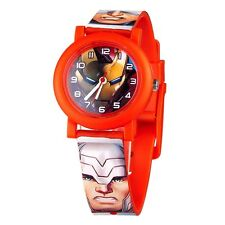 Official Childrens Avengers Age of Ultron Wristwatch - Captain Hulk Iron Man
