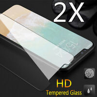 5 X Full Cover Tempered Glass Case Screen Protector Film For iPhone XS Xr XS Max