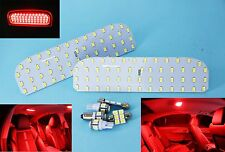 Holden VE VF Commodore Red Full LED Interior Light Kit - Exact fit Panel Lights
