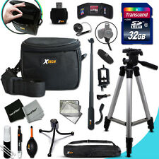 Xtech Accessory KIT for Nikon COOLPIX AW100 Ultimate w/ 32GB Memory + Case +MORE