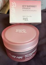 Touch In Sol Icy Sherbet Primer Full Sz. Silicone Free & Cooling Nib Foundation