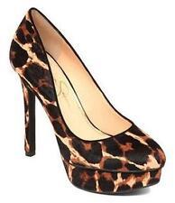 Women's Shoes Jessica Simpson WINSLO 2 Classic Platform Pumps Natural Leopard