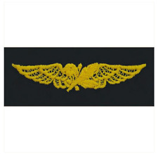 Vanguard NAVY EMBROIDERED BADGE: AVIATION SUPPLY OFFICER - COVERALL