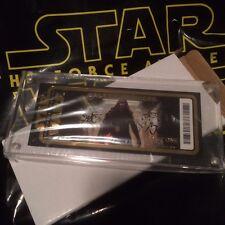 2015 Star Wars The Force Awakens Galaxy Premiere  Disney Golden Ticket LE 30,000