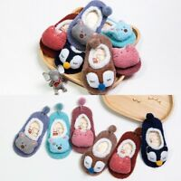 New Newborn Baby Kids Toddler Anti Slip Shoes Cartoon Slipper Floor Socks Boots