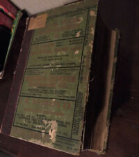 Rare 1930 Houston TX City and Business Directory Morrison & Fourmy 2606 Pages
