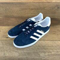 NIB Adidas Originals Gazelle Navy Suede BB5478 Shoes Sneaker Men's 12 US