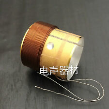 19.5mm 8ohm 80W core bass woof voice coil white aluminium for speaker repair