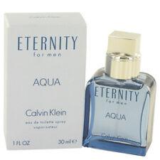 Eternity Aqua by Calvin Klein Eau De Toilette Spray 1 oz for Men