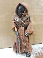 1997 Star Wars 6 in (environ 15.24 cm) JAWA 1/6 Scale 12 in (environ 30.48 cm) Figure Collection loose POTF 2